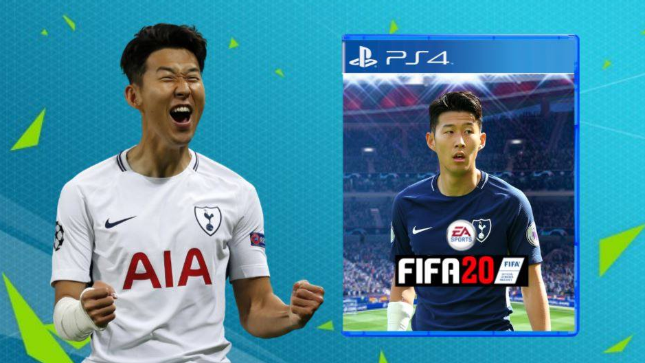 FIFA 20 ရဲ႕ မ်က္ႏွာဖံုးမွာ ထည့္သြင္းေဖာ္ျပခံရေတာ့မယ့္ ဆြန္ေဟာင္မင္