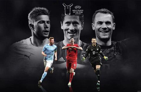 မက္ဆီႏွင့္ေရာ္နယ္ဒိုမပါသည့္ UEFA၏ ဆန္ကာတင္အေကာင္းဆုံးကစားသမား ၃ ဦးစာရင္းထြက္