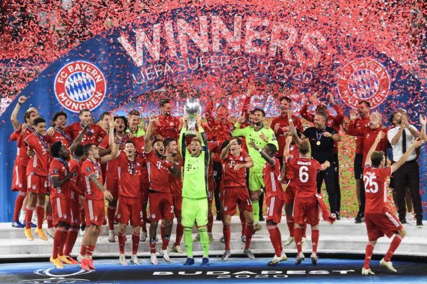 ၂ႀကိမ္ေျမာက္ UEFA Super Cup ခ်န္ပီယံဆုဖလား ကိုင္ေျမႇာက္နိုင္ခဲ့သည့္ ဘိုင္ယန္ျမဴးနစ္အသင္း
