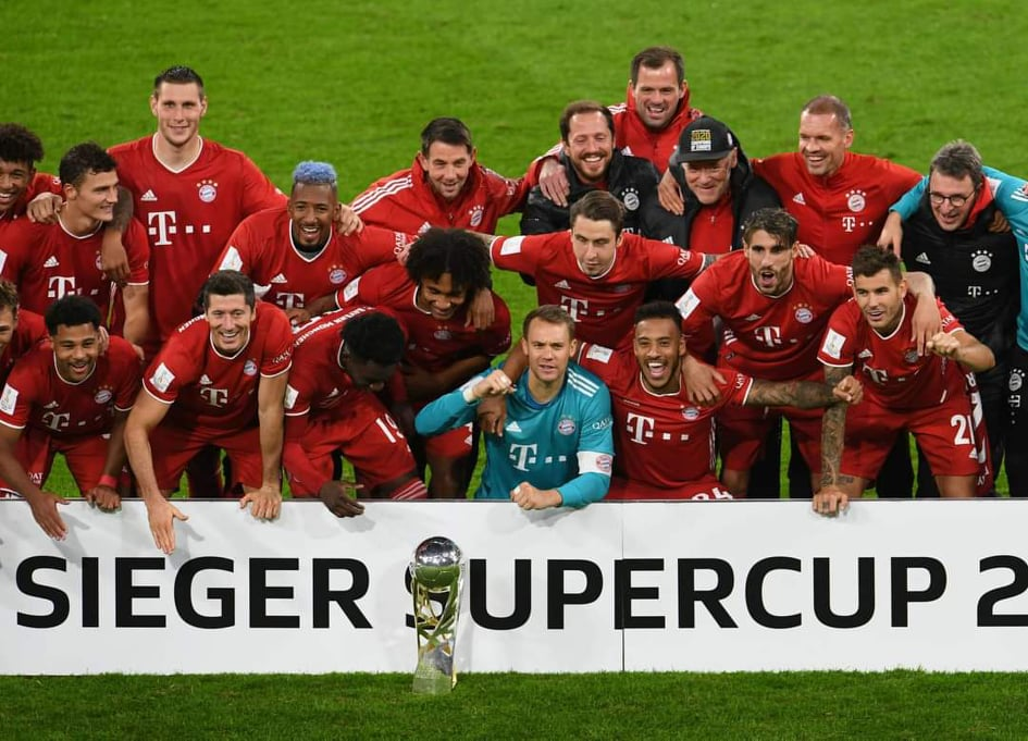 (၈)ႀကိမ္ေျမာက္ German Super Cup ကို ဆြတ္ခူးခဲ့တဲ့ ဘိုင္ယန္ျမဴးနစ္